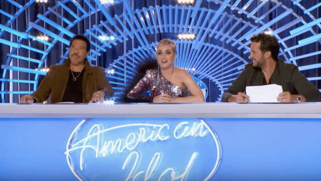 Katy Perry, Luke Bryan and Lionel Richie on 'American Idol'.