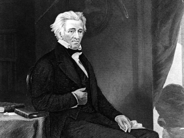 Andrew Jackson, American general and the 7th President of the United States