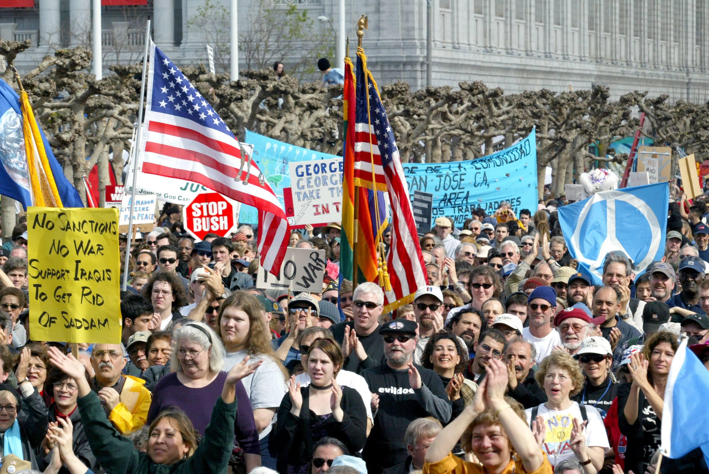 Anti-war Protest Held In San Francisco