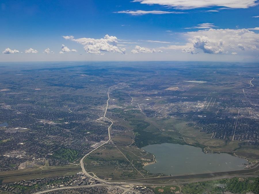 Cherry Creek Reservoir, Aurora Colorado, U.S.A.