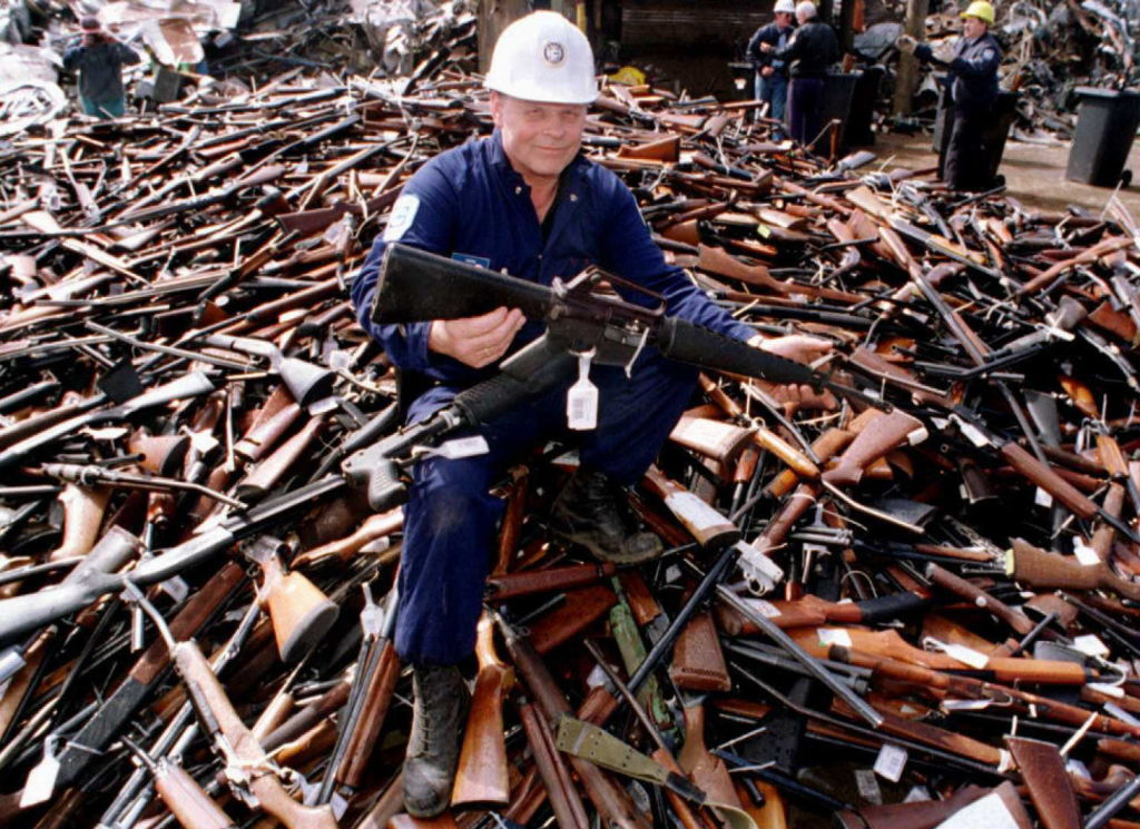 Australia gun buy back