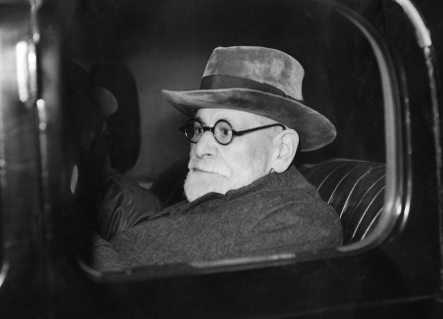 Austrian psychoanlyst Sigmund Freud leaves Victoria Station after his arrival in London