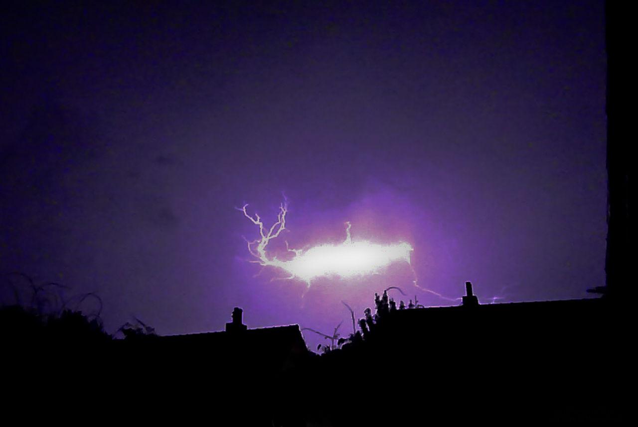 Ball lightning or St. Elmo's fire