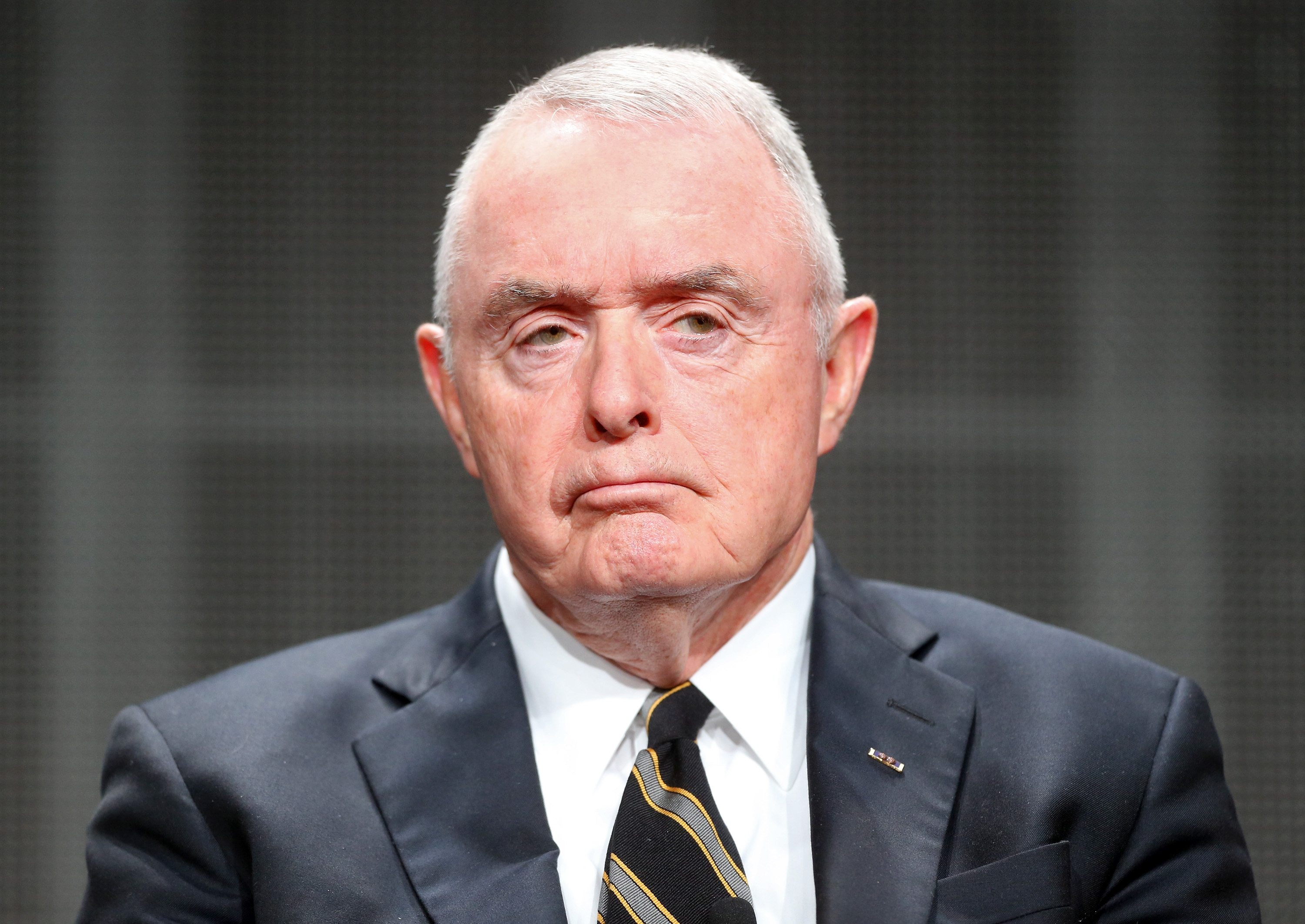 General Barry McCaffrey speaks onstage