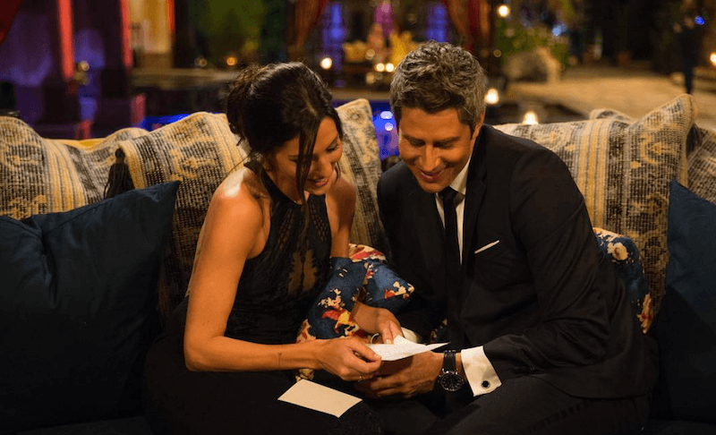 Becca and Arie on The Bachelor