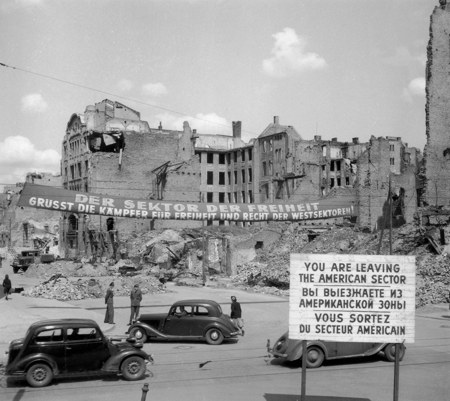 Berlin Blockade communist germany