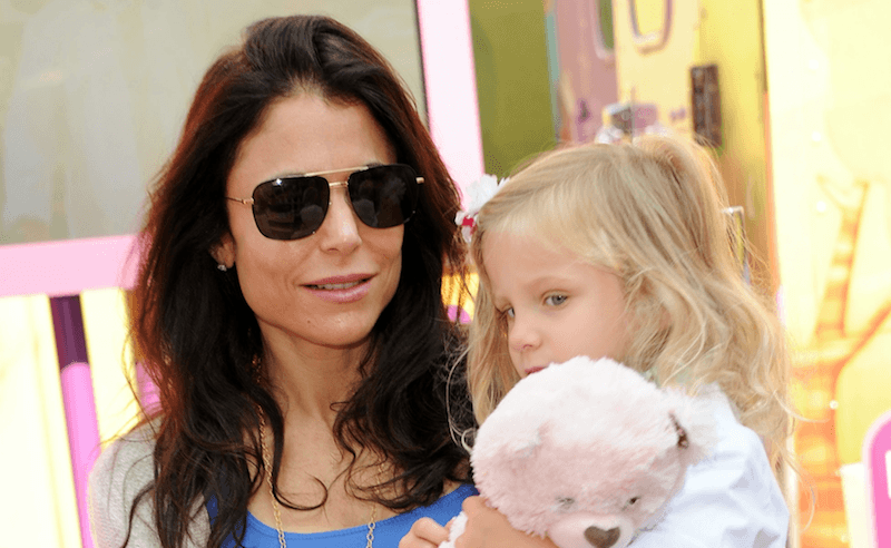 Bethenny Frankel and her daughter Bryn Hoppy