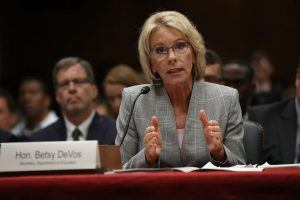 Betsy DeVos' Convoluted Answers Prove Why She's the Most Hated Cabinet Secretary