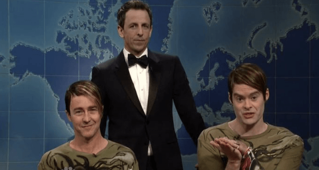 Bill Hader as Stefan on SNL.