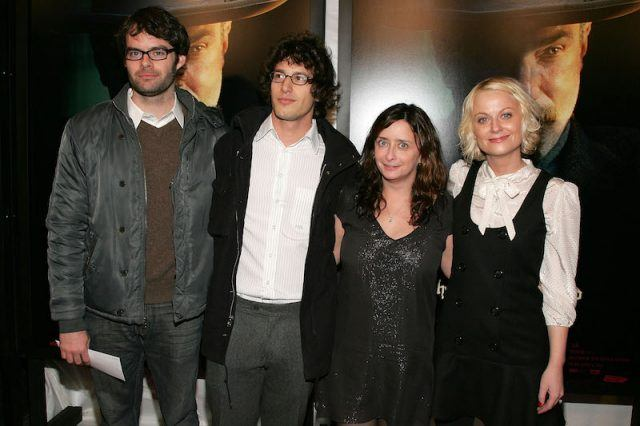 Bill Hader with his SNL cast mates.