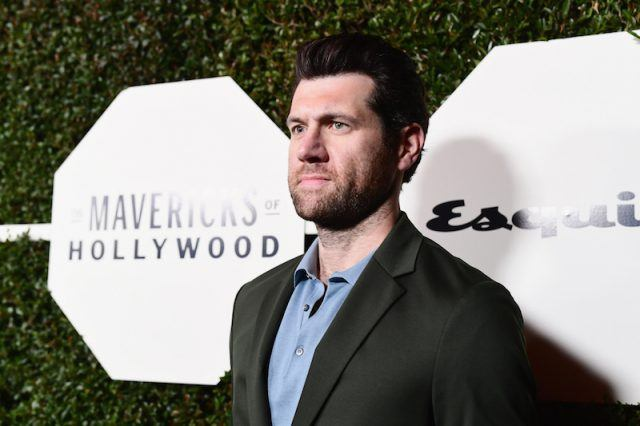 Billy Eichner posing on a red carpet.