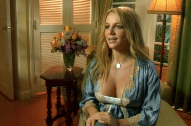 Britney Spears on her televison show.