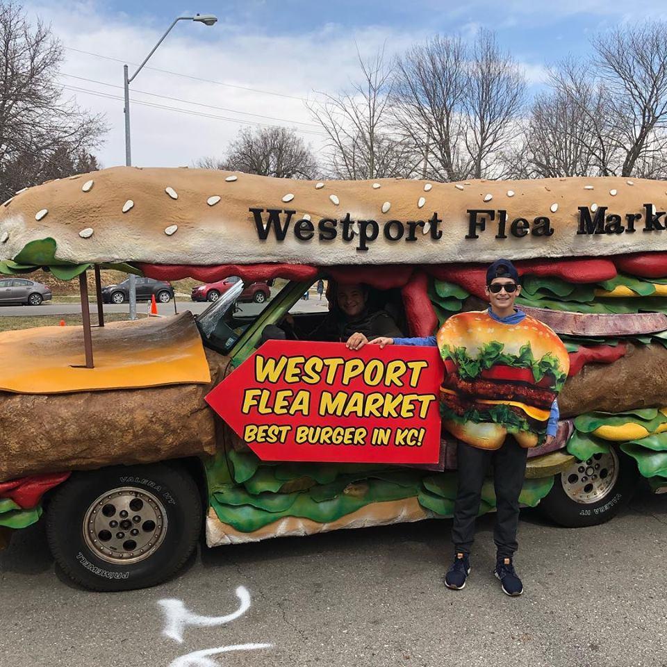 Burgermobile westport flea market
