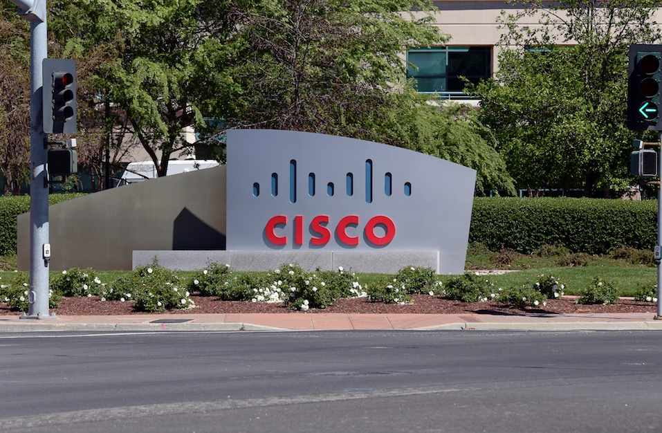 The Cisco Systems World Headquarters located in San Jose