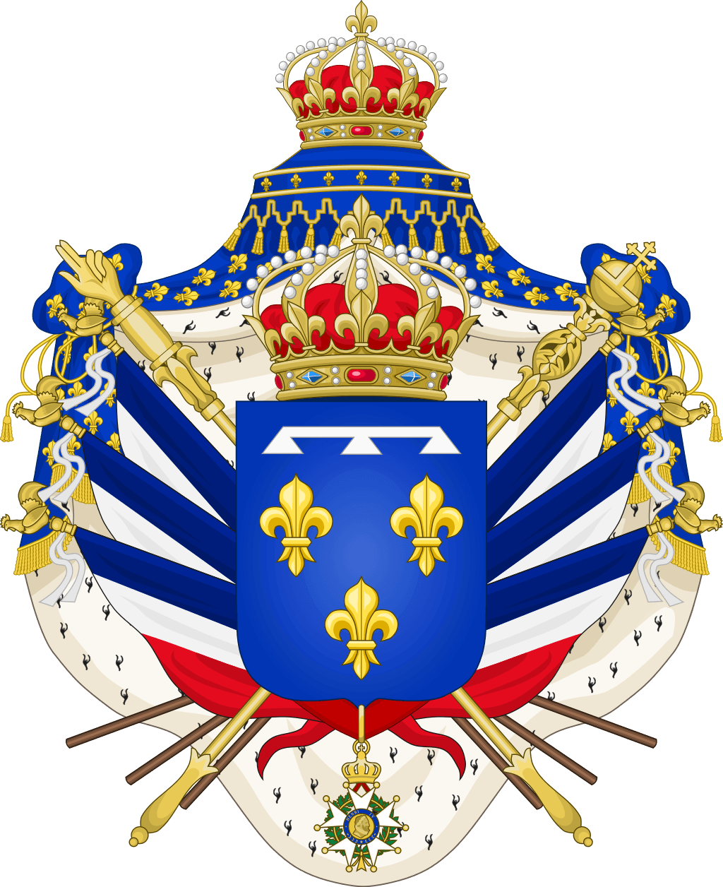 Coat of Arms Kings of France Orleans