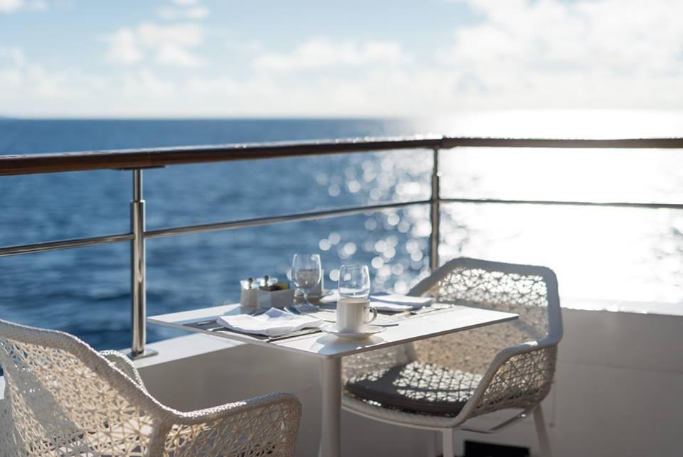 Crystal Cruises deck