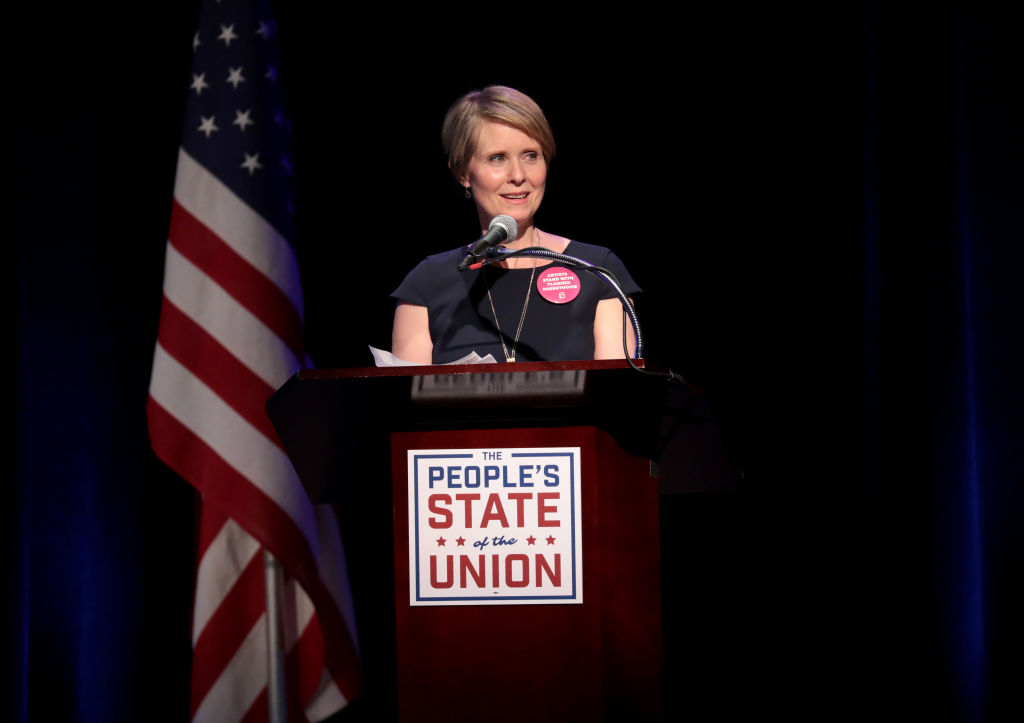 Cynthia Nixon state of the union