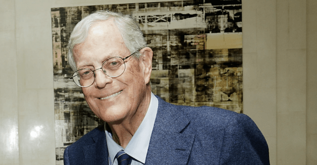 David Koch at an event.