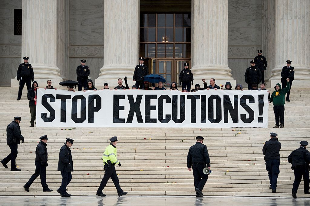 Protest against death penalty