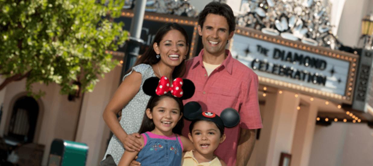 Disney family photo