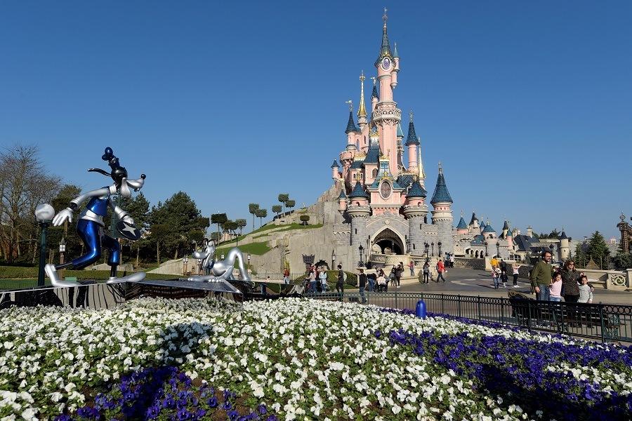 Castle as Disneyland