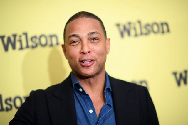 Don Lemon on a red carpet.