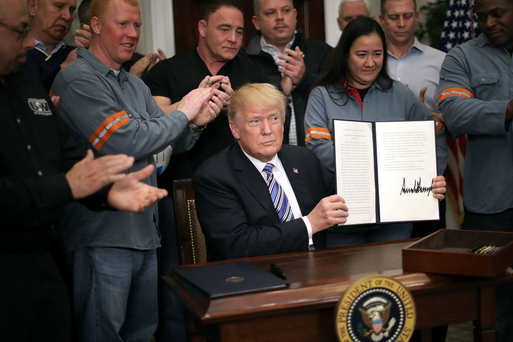 President Trump Signs Section 232 Proclamations On Steel And Aluminum Imports
