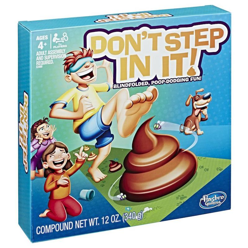 'Don't Step in It' game.