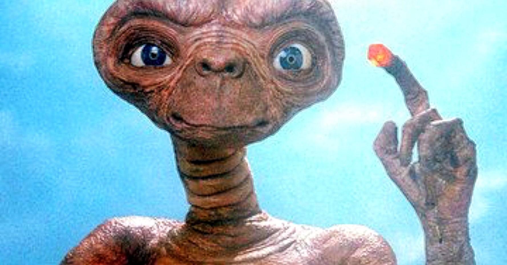 E.T. The Extra Terrestrial Spielberg movie