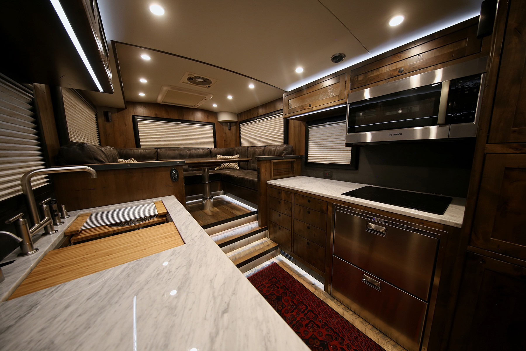 Take A Look Inside These 1 Million Luxury RVs That Are Probably Nicer Than Your House