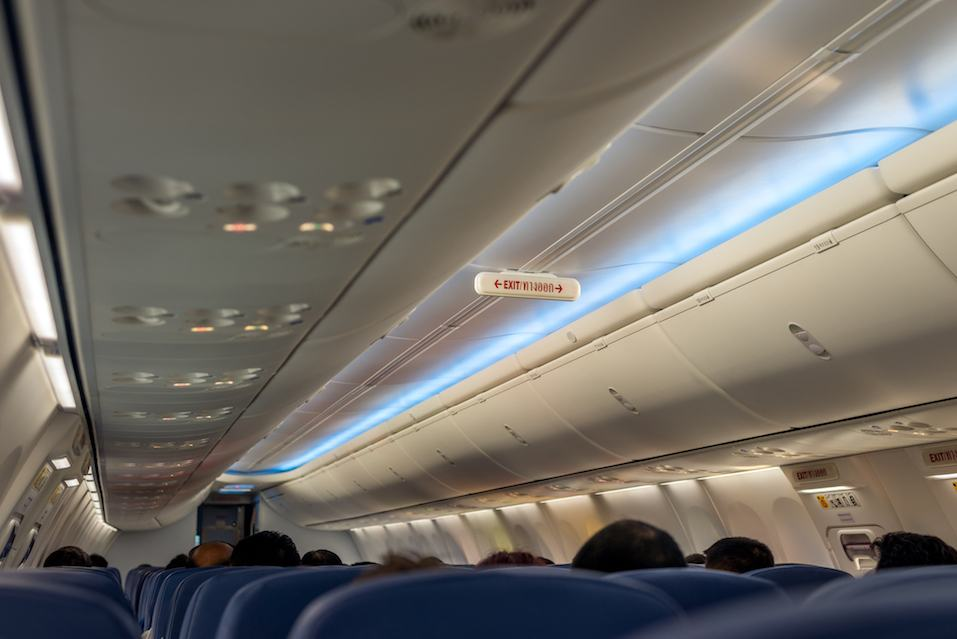 Emergency Exit Row in Airplane