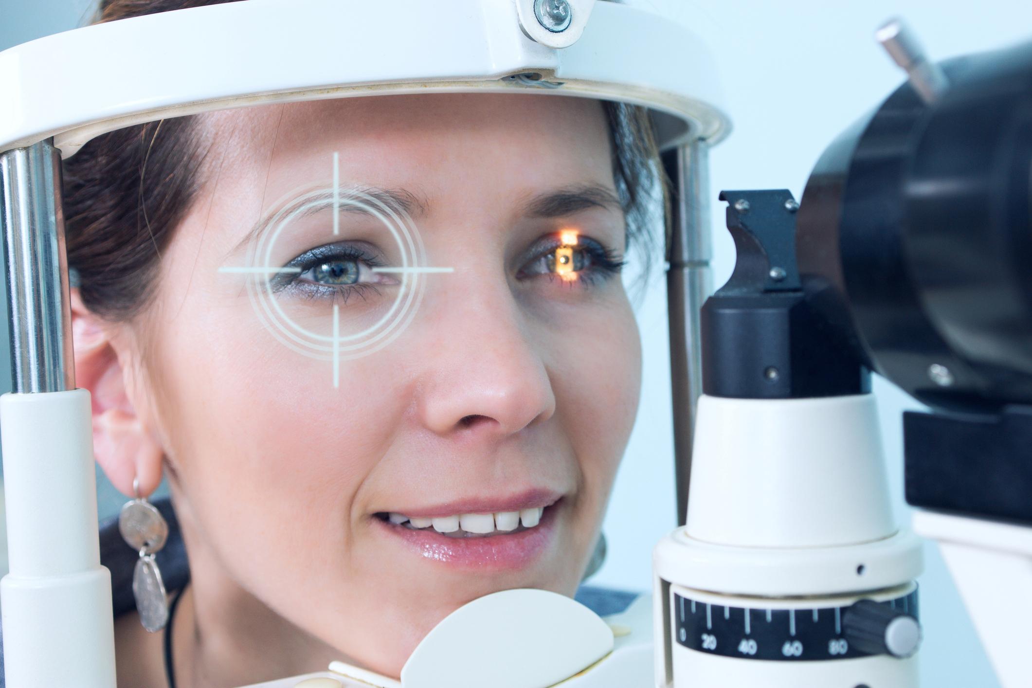 Checking eyesight