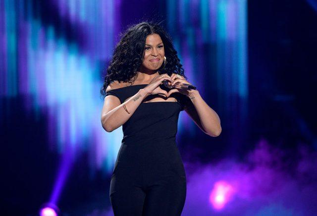 "Recording artist Jordin Sparks performs onstage during FOX's ""American Idol"" Finale."