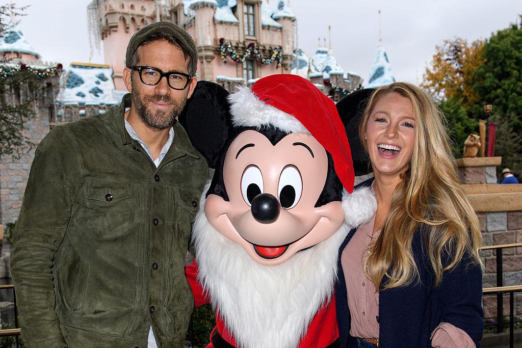 Blake Lively at Disney