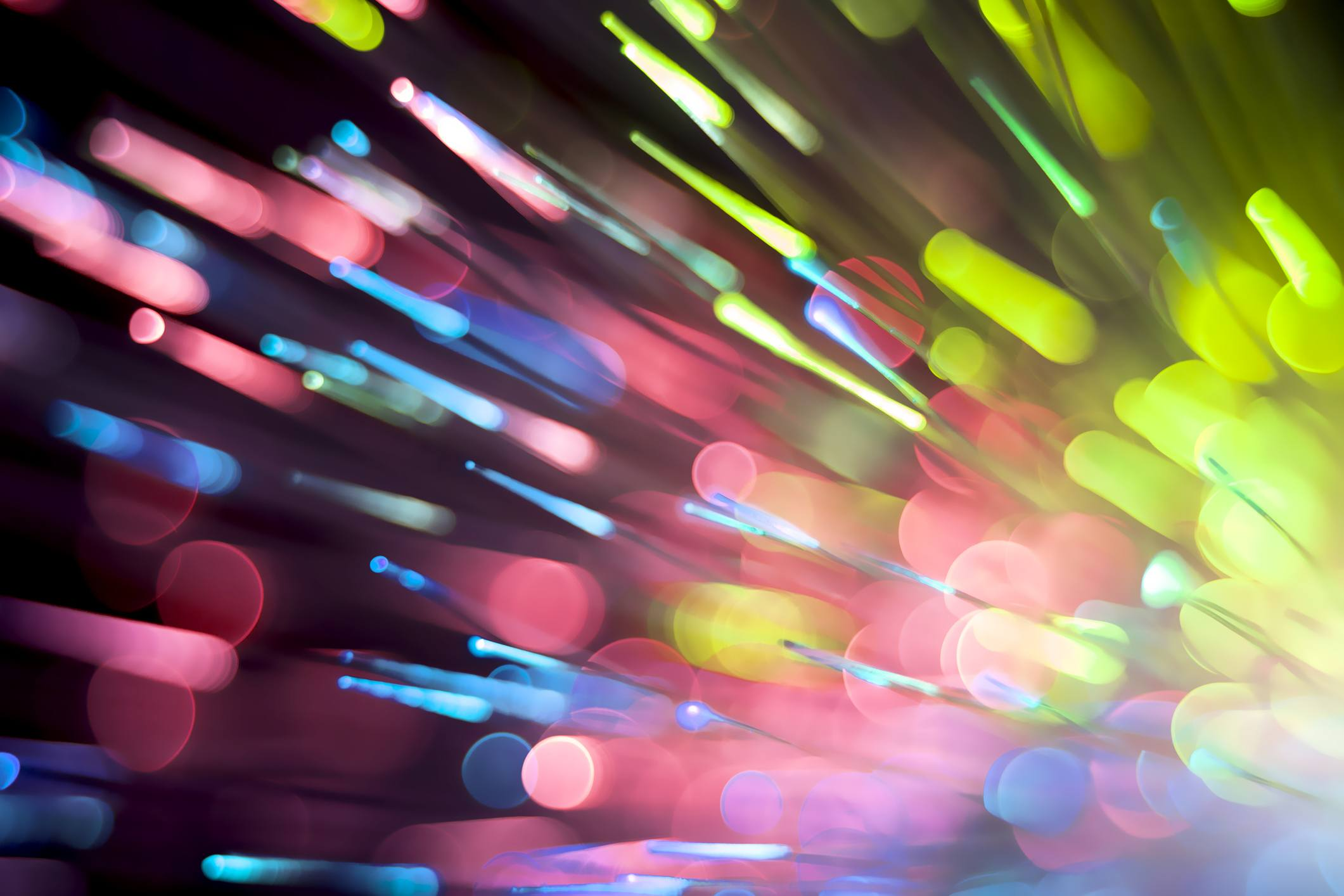 Colorful Fiber optic lights