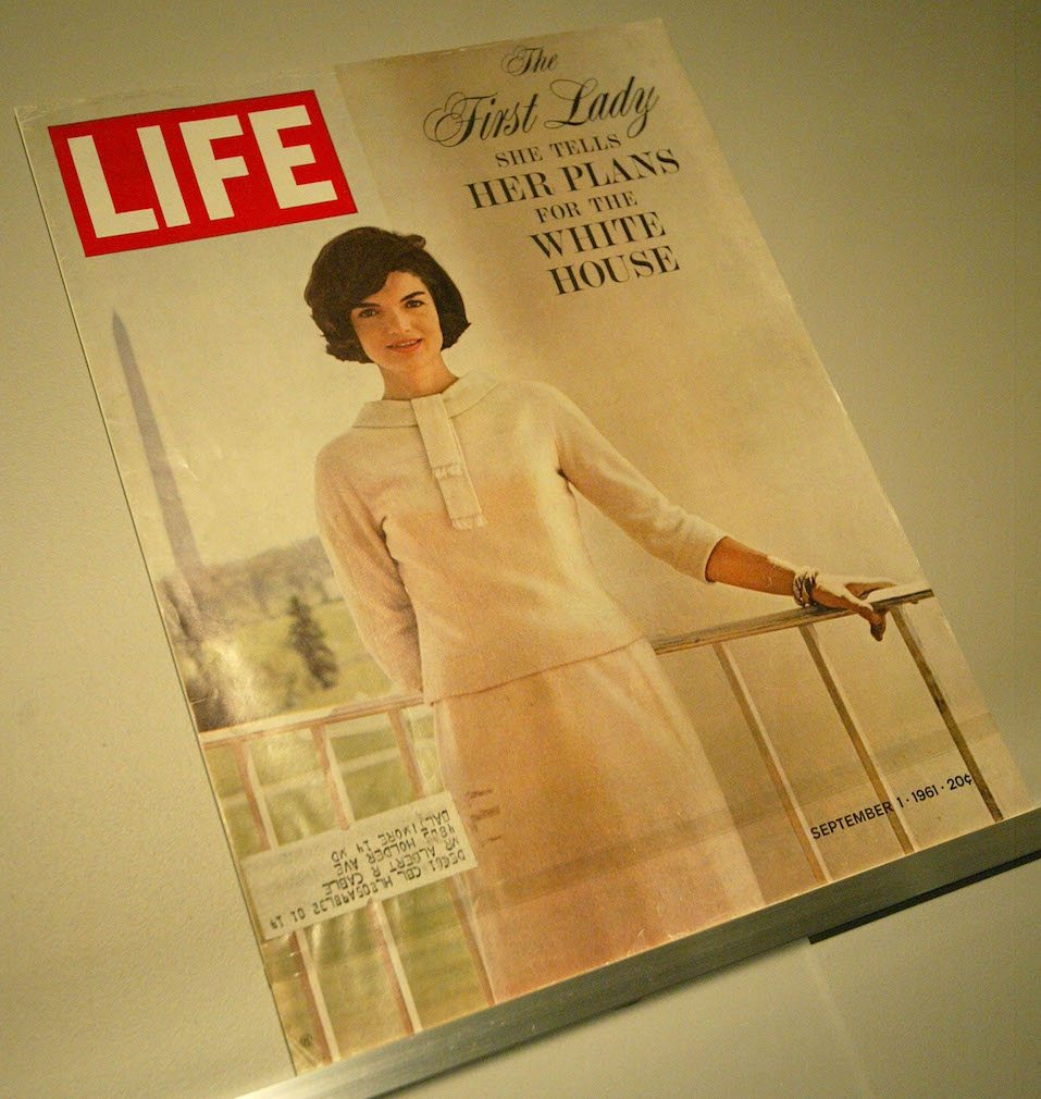 A Jacqueline Kennedy LIFE magazine cover