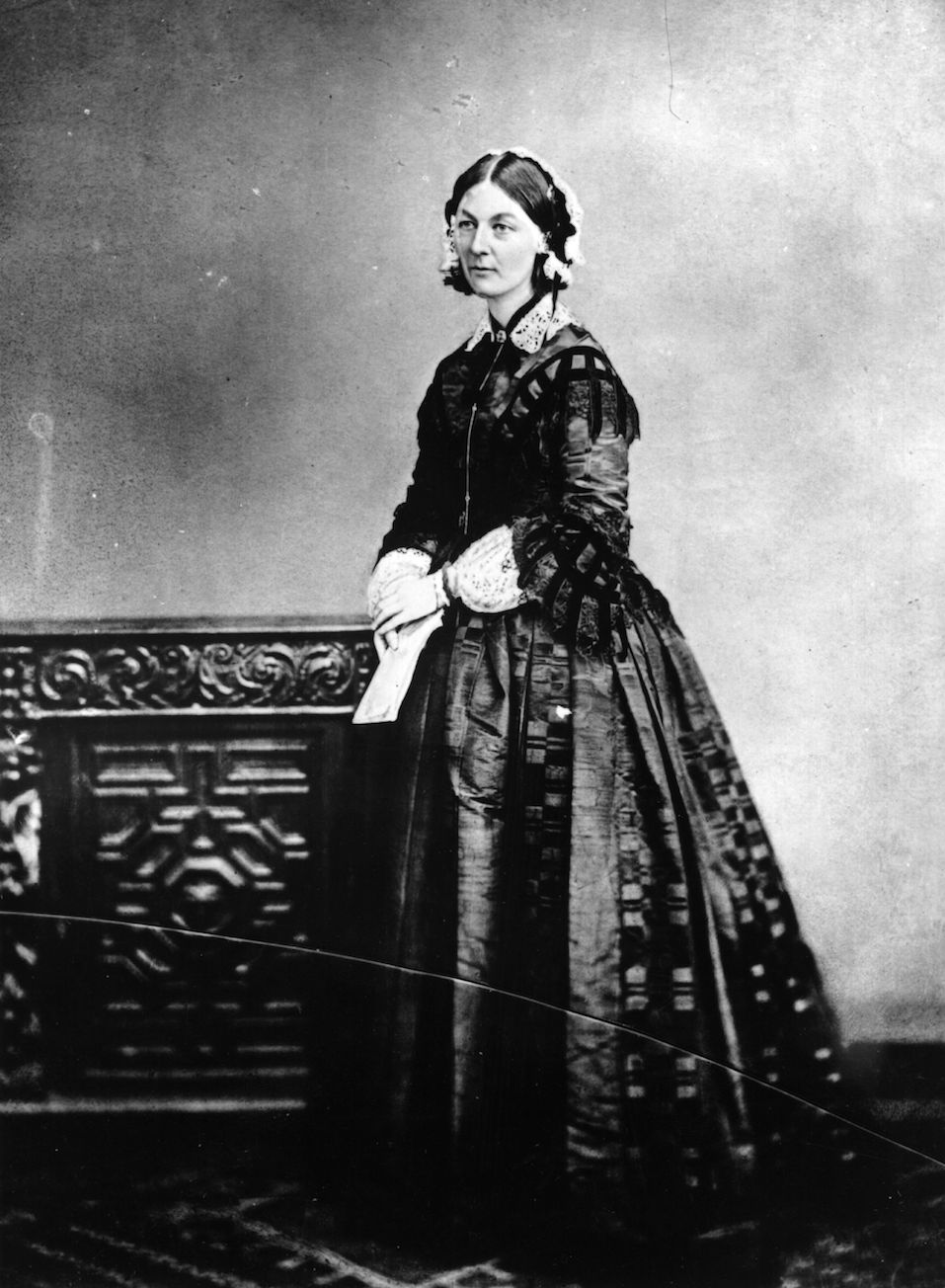 English nurse, hospital reformer and philanthropist Florence Nightingale