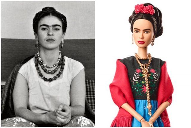 Frida Kahlo collage.