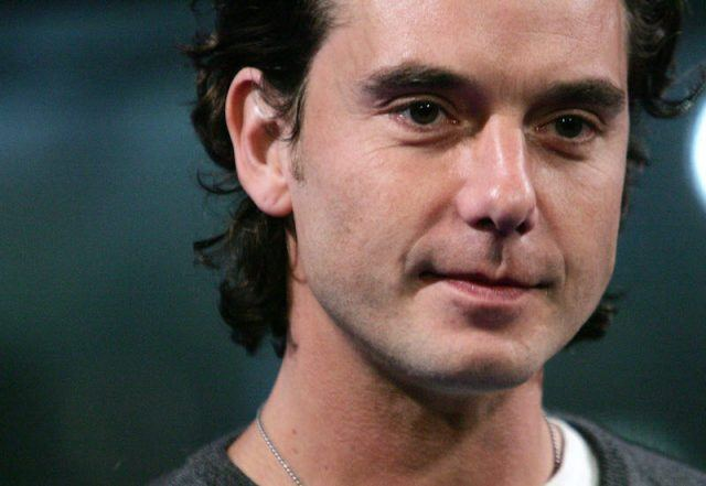 Gavin Rossdale looking serious and perplexed.
