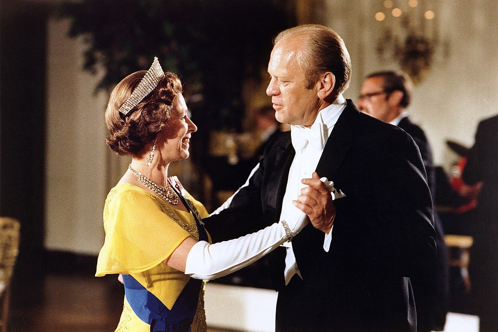Gerald Ford and Queen Elizabeth