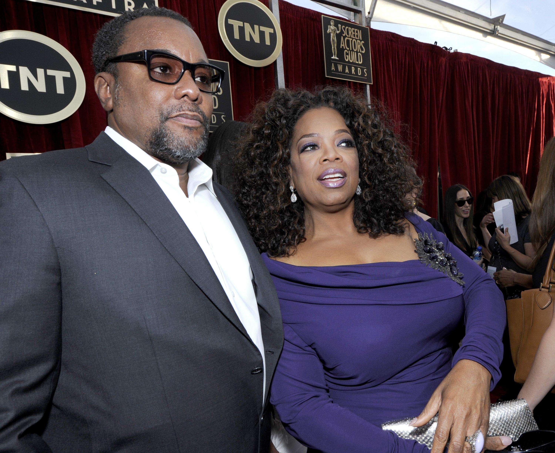 Lee Daniels and Oprah Winfrey