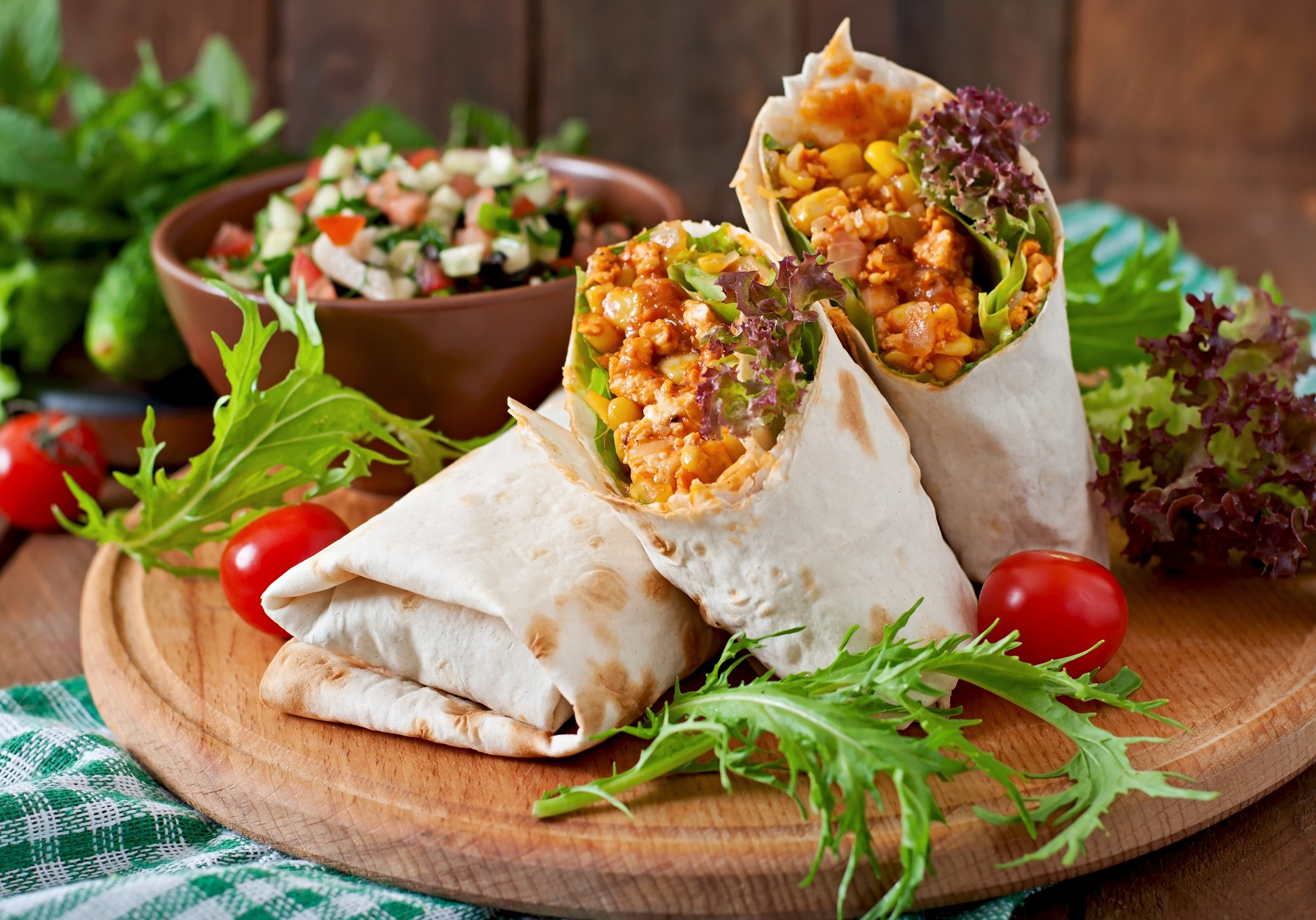 Burritos wraps