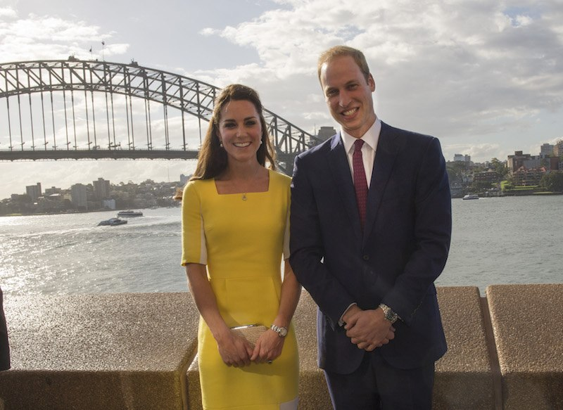 Sydney Opera House Reception The Duke and Duchess attended a Reception hosted by the Governor and Premier of New South Wales. The Duke made a short speech. They met former Australian cricketer Glenn McGrath and Australian Women's Cricketer Ellyse Perry and posed with the World Cup 2015 Trophy.<br />