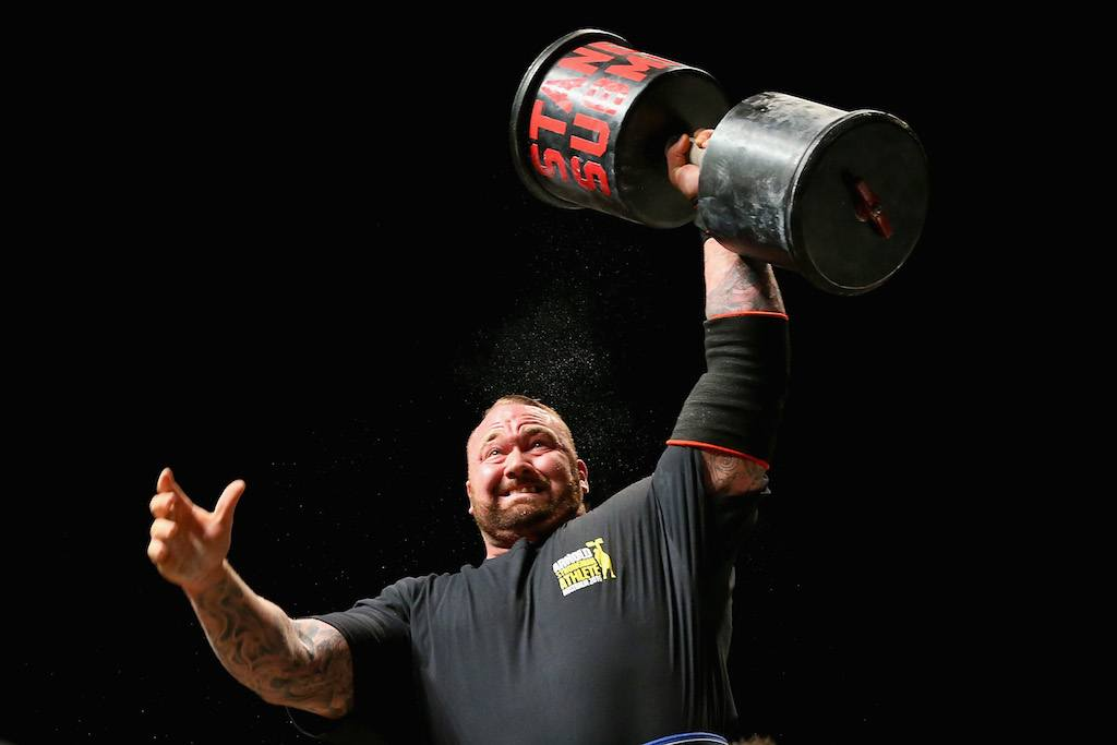 The Mountain From Game of Thrones Broke an Incredible World Record