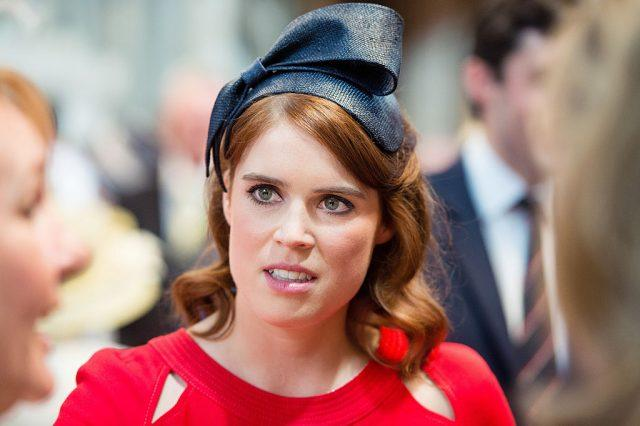 Princess Eugenie attends a lunch after the National Service of Thanksgiving as part of the 90th birthday celebrations for The Queen at The Guildhall on June 10, 2016 in London, England.