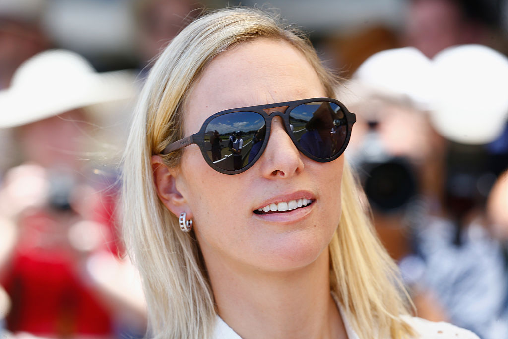 Zara (Phillips) Tindall pictured at the Magic Millions Polo Event on January 8, 2017 in Gold Coast, Australia.