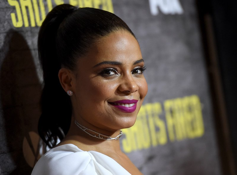 "WEST HOLLYWOOD, CA - MARCH 16: Actress Sanaa Lathan arrives at a screening and Q&A for FOX TV's ""Shots Fired"" at the Pacific Design Center on March 16, 2017 in West Hollywood, California. (Photo by Kevin Winter/Getty Images)"
