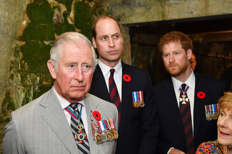 Prince Charles And His Sons Have Had A Strained Relationship Tim Rooke Pool Getty Images