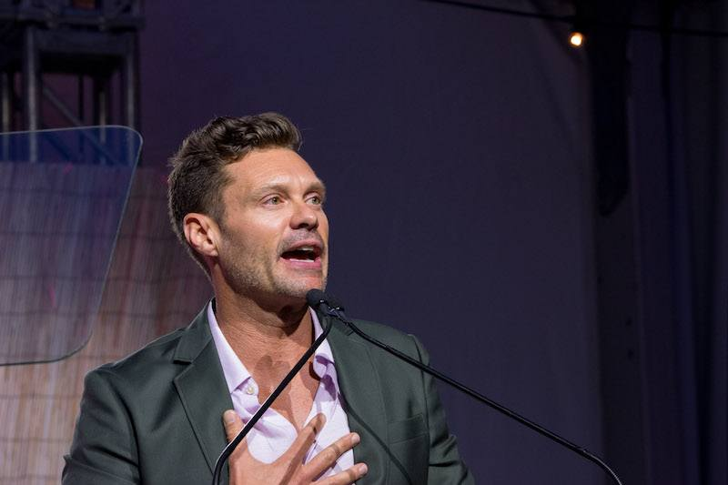 BRIDGEHAMPTON, NY - AUGUST 05: Ryan Seacrest attends the Sixth Annual Hamptons Paddle & Party For Pink To Benefit Breast Cancer Research Foundation on August 5, 2017 in Bridgehampton, New York. (Photo by Steven Henry/Getty Images for Breast Cancer Research Foundation)