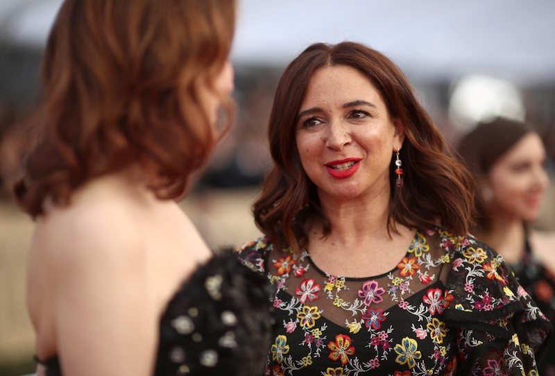 LOS ANGELES, CA - JANUARY 21: Actor Maya Rudolph attends the 24th Annual Screen Actors Guild Awards at The Shrine Auditorium on January 21, 2018 in Los Angeles, California. 27522_010 (Photo by Christopher Polk/Getty Images for Turner)